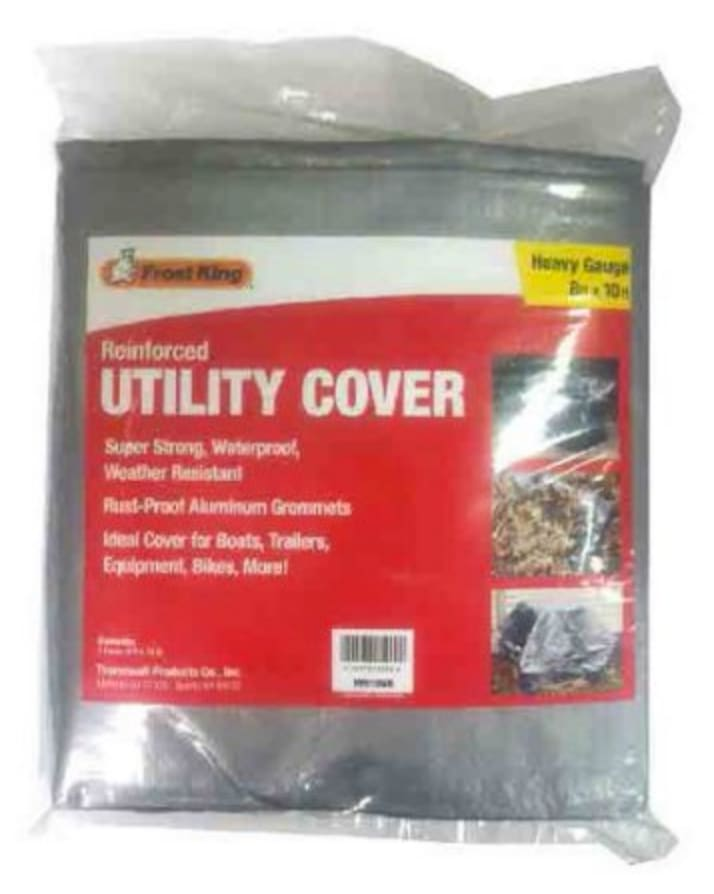 Frost King Reinforced 8x10ft Utility Cover for $5 + pickup at Walmart