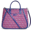 Vera Bradley Women's Trapeze Tote Bag for $22 + free shipping