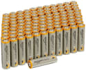 AmazonBasics AA Alkaline Battery 100-Pack for $14 + free shipping w/ Prime