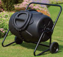 50-Gallon Wheeled Compost Tumbler for $130 + free shipping