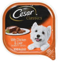 Cesar 3.5-oz. Adult Wet Dog Food 24-Pack for $8 + free shipping