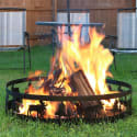 "Wild Moose Steel 36"" Campfire Ring for $40 + free shipping"