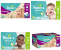 Pampers Diapers at Amazon: $2 off + 5% off + free shipping