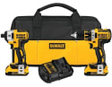 Refurb DeWalt 20V Drill & Impact Driver Kit for $180 + free shipping