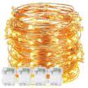 4 DecorNova 10-Foot 60 String Light Sets for $12 + free shipping w/ Prime