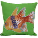 "2 Fish 17"" Square Outdoor Throw Pillows for $10 + $6 s&h"