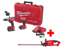 Milwaukee M18 Fuel 18V Combo Kit w/ Trimmer for $299 + free shipping