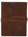 RusticTown Medium Vintage Leather Journal for $25 + free shipping w/ Prime