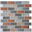 Art3d Peel & Stick Stone Backsplash Tile for $6 + free shipping