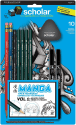 Prismacolor Manga Drawing Set 10-Piece Kit for $6 + free shipping w/ Prime