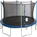 Jump Zone 12ft Round Trampoline w/ Enclosure for $150 + free shipping