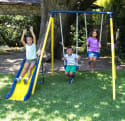 Sportspower Power Play Time Metal Swing Set for $59 + free shipping