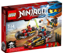 LEGO Ninjago Ninja Bike Chase for $14 + free shipping