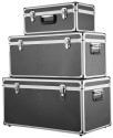3 iKayaa Multi-Purpose Aluminum Storage Boxes for $70 + free shipping