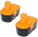 18V Ni-Cd Cordless Tool Battery 2pk for Ryobi for $32 + free shipping w/ Prime