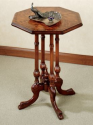 Ulani Octagonal End Table for $170 + free shipping