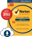 Norton Security Deluxe 5-Device 15-Month for $20 w/ Prime