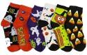 Unisex Halloween Socks 6-Pack for $7 + free shipping