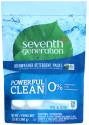 Seventh Generation Dishwasher Detergent 20pk for $5 + pickup at Walmart