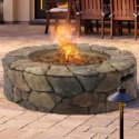 BCP Stone Design Outdoor Patio Gas Firepit for $125 + free shipping
