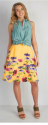 ModCloth Women's Profound Pizzazz Skirt for $21 + $6 s&h