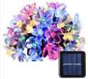 21-Foot Flower Solar String Lights for $5 + free shipping w/ Prime