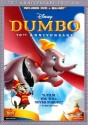 Dumbo: 70th Anniversary Edition Blu-ray / DVD for $10 + pickup at Best Buy