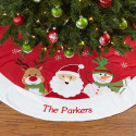 Santa Claus Lane Embroidered Tree Skirt for $32 + $7 s&h