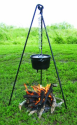 Stansport Cast Iron Cooking Tripod for $18 + pickup at Walmart