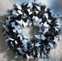 """16"""" Halloween Ghost Wreath for $7 + $7 s&h"""