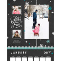 "Custom 8"" x 11"" 12-Month Wall Calendar for free + $7 s&h"