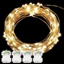 DecorNova 39-Foot 240 String Lights for $12 + free shipping w/ Prime