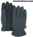Unisex Deerskin Palm HeatLok Gloves for $9 + $2 s&h