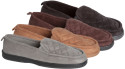 James Fiallo Men's Quilted Suede Loafers for $10 + free shipping