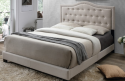 Emerson Fabric Upholstered Bed from $200 + free shipping