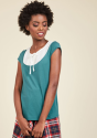 ModCloth Women's Lovely Everlasting Knit Top for $16 + free shipping