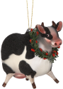 Lenox Barnyard Wreath Glass Ornaments for $11 + $7 s&h