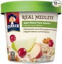 Quaker Real Medleys Instant Oatmeal 12-Pack for $11 + free shipping