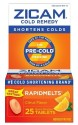 Zicam Cold Citrus RapidMelts 25-Count Pack: $8 + pickup at Target