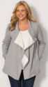 Woman Within Women's Sherpa Cardigan Jacket from $21 + $8 s&h