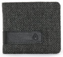 Nixon Showoff Herringbone Bifold Wallet for $6 + free shipping