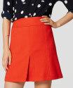Loft Women's Front Pleat Skirt for $36 + $9 s&h