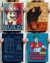 Posters at Teefury: 25% off