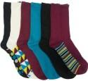 Nicole Miller Women's Crew Socks 6-Pack for $7 + free shipping