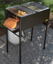 3-Basket Outdoor Propane Deep Fryer for $170 + free shipping