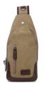 Valencia Canvas Shoulder Sling Bag for $17 + free shipping