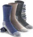Men's/Women's/Kid's Merino Socks 2-Pack for $7 + free shipping