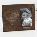 Wedding Vows Personalized Frame for $23 + $6 s&h