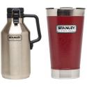 Stanley Growler / Vacuum Pint Glass Bundle for $19 + pickup at Walmart