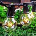 25-Bulb Patio Globe String Light Set for $14 + free shipping w/ Prime